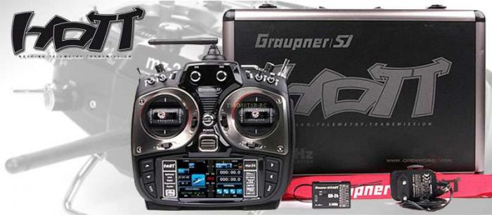 1 Graupner/SJ mz-24 HoTT 12 Channel