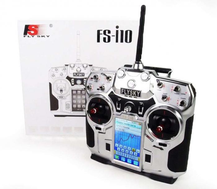 1 FlySky FS-i10 10 Channel