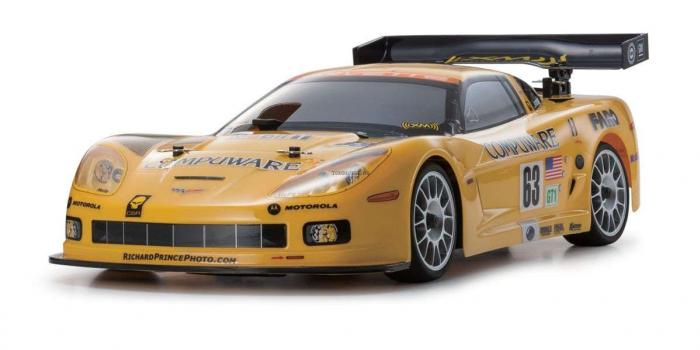 1 Kyosho - 1/10 Chevrolet Corvette C6-R GP FW-06 PureTen RS Ready Set
